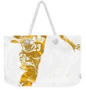 Lebron James Cleveland Cavaliers Pixel Art 14 Weekender Tote Bag