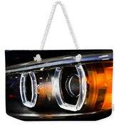 Led Headlights Weekender Tote Bag