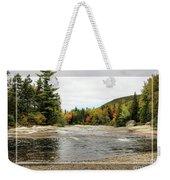 Ledge Falls Hollow, Framed Weekender Tote Bag