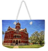 Lee County Courthouse Giddings Texas 2 Weekender Tote Bag
