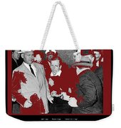 Lee Harvey Oswald Shot By Jack Ruby Photo Taken By  Dallas Times Herald Photographer Bob Jackson  Weekender Tote Bag