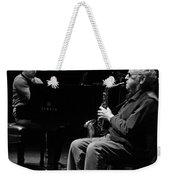 Lee Konitz 1 B And W Weekender Tote Bag