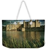 Leeds Castle In Kent Weekender Tote Bag