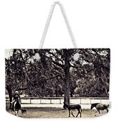 Lee's Ranch 2 Sepia Weekender Tote Bag