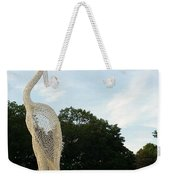 Left Crane Weekender Tote Bag