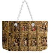 Left Half - The Golden Retablo Mayor - Cathedral Of Seville - Seville Spain Weekender Tote Bag