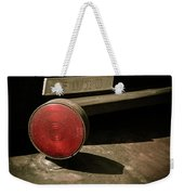 Left Turn Signal Weekender Tote Bag