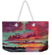 Legend Of A Sunset Weekender Tote Bag