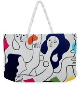 Leger Light And Loose Weekender Tote Bag by Tara Hutton