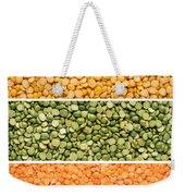 Legumes Triptych Weekender Tote Bag