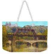 Lehigh River - Easton Pa Weekender Tote Bag
