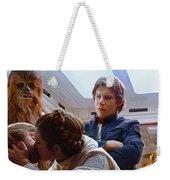 Leia Kisses Luke Weekender Tote Bag