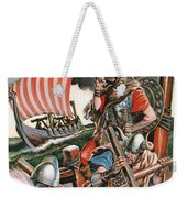 Leif Ericsson, The Viking Who Found America Weekender Tote Bag