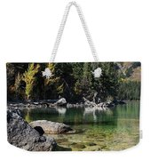 Leigh Lake Cove Weekender Tote Bag