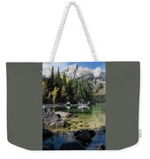 Leigh Lake Cove Weekender Tote Bag