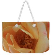 Lemon Blush Rose Weekender Tote Bag