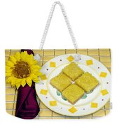 Lemon Candy Bars Weekender Tote Bag
