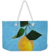 Lemon Drop Weekender Tote Bag