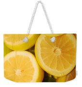 Lemon Still Life Weekender Tote Bag