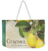 Lemon Tree - Citronier Citrus Limonum Weekender Tote Bag