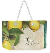 Lemon Tree - Limone Citrus Medica Weekender Tote Bag