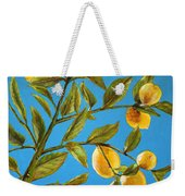 Lemon Tree Weekender Tote Bag