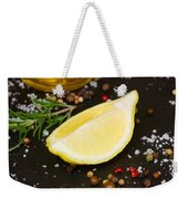 Lemon With Spices  Weekender Tote Bag