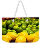 Lemons And Limes Weekender Tote Bag