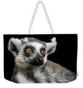 Lemur Weekender Tote Bag by Sergey Taran