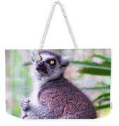 Lemur's Gaze Weekender Tote Bag