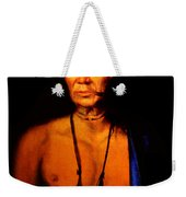 Lenape Chief Weekender Tote Bag