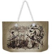 L'enfant Et Le Lion  Weekender Tote Bag