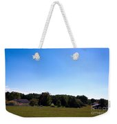 Length Wise Scene Of Countryside In Frederick Maryland Weekender Tote Bag