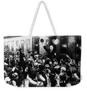 Lenin At Finland Station Weekender Tote Bag