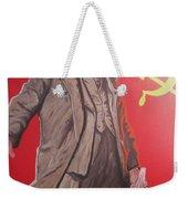 Lenin Gets Bolshi After A Bevi Weekender Tote Bag