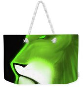 Leo Profile- Lime Weekender Tote Bag