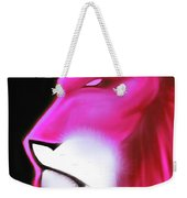 Leo Profile- Radiant Hot Pink Weekender Tote Bag