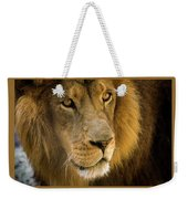 Leo The Lion Weekender Tote Bag