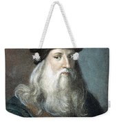 Leonardo Da Vinci - To License For Professional Use Visit Granger.com Weekender Tote Bag