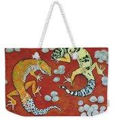 Leopard Geckos Weekender Tote Bag