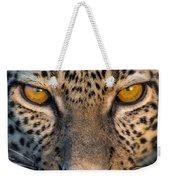 Leopard Panthera Pardus, Ndutu Weekender Tote Bag