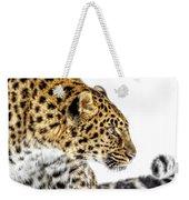 Leopard Profile Weekender Tote Bag