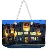 Leo's Steak Shop Weekender Tote Bag