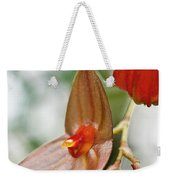 Lepanthes Maduroi Orchid Weekender Tote Bag