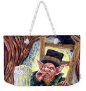 Leprechaun's Lair Weekender Tote Bag by Heather Calderon