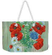 Les Coquelicots Weekender Tote Bag