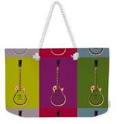 Les Paul Colorful Poster Weekender Tote Bag