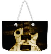 Les Paul Guitar Weekender Tote Bag by Bill Cannon