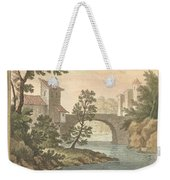 Les Poissons Et Le Cormoran (the Fish And Thecormorant) Weekender Tote Bag