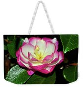 Leslie Ann - Sasanqua Camellia 006 Weekender Tote Bag